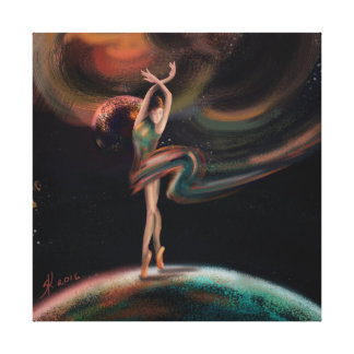 """""""The Dancing Universe """" Canvas Print"""