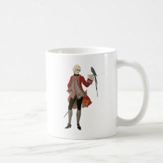 The Dandy And The Bird Coffee Mug