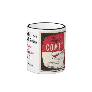 The Dandy Lion ~ Mepps Comet Lure Ad Ringer Coffee Mug