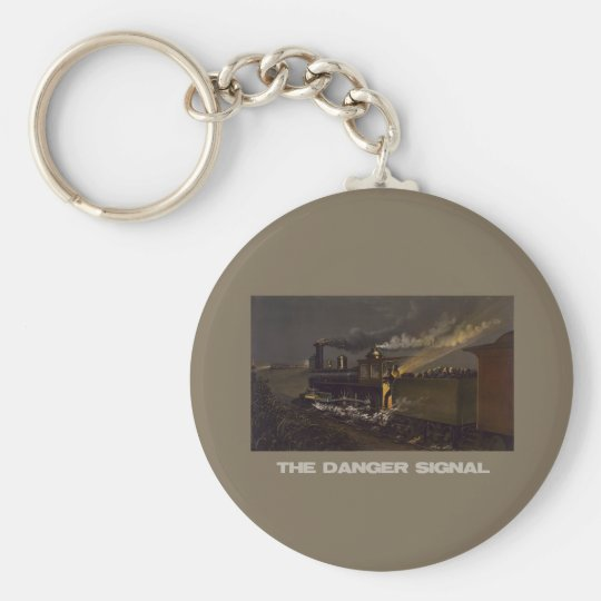 The Danger Signal Keychain