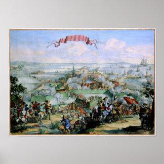 The Danish Conquest of Kristianstadt 1675 Poster
