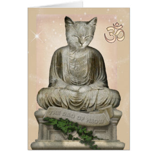 The Dao of Meow Card