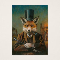 The Dapper Fox ACEO Business Card