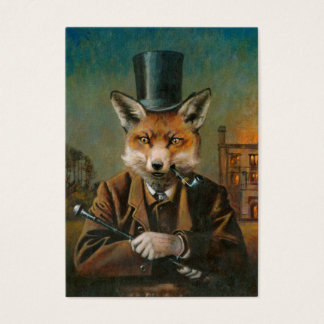 The Dapper Fox ACEO Business Card