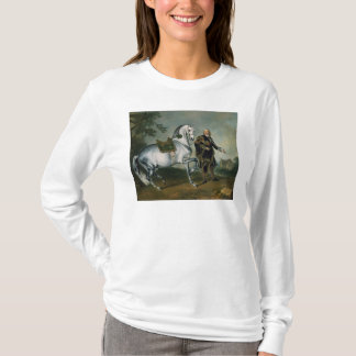 The Dappled Horse 'Scarramuie' en Piaffe T-Shirt