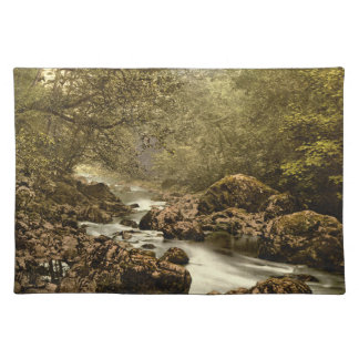 The Dargle, County Wicklow, Ireland Cloth Placemat