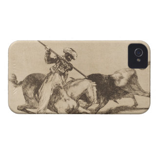 The daring moor Gazul was the first to spear bulls iPhone 4 Case-Mate Case