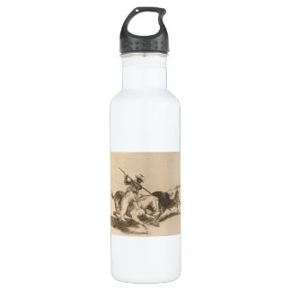 The daring moor Gazul was the first to spear bulls Water Bottle