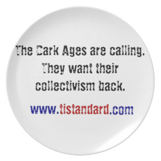 The Dark Ages Are Calling Dinner Plates