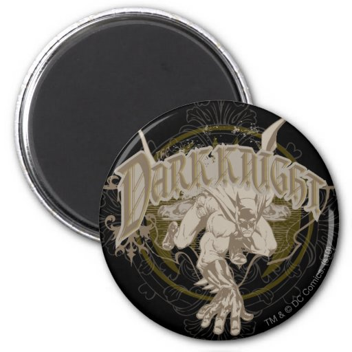 The Dark Knight Fridge Magnet