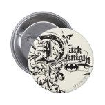 The Dark Knight Ornate 2 Inch Round Button