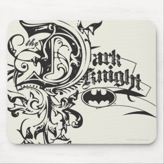 The Dark Knight Ornate Mouse Pad