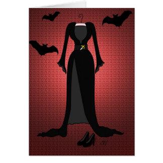 'The Dark Mistress' Card