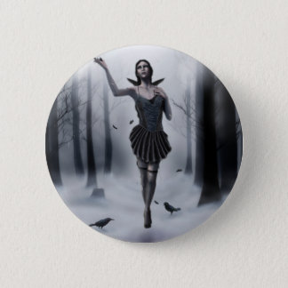 The Dark Muse Pinback Button