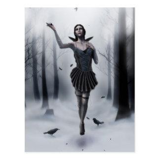 The Dark Muse Postcard