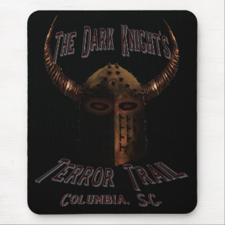 The Dark Night's Terror Trail Mouse Pad