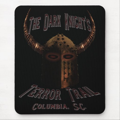 The Dark Night's Terror Trail Mouse Pads
