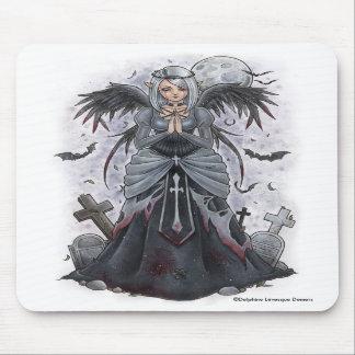 The Dark Priestess Angel Mousepad