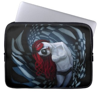 the dark side of my mind hurts laptop computer sleeves