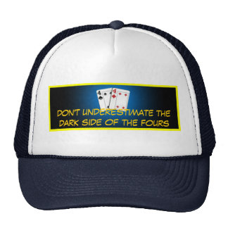 the dark side of the fours cap trucker hat