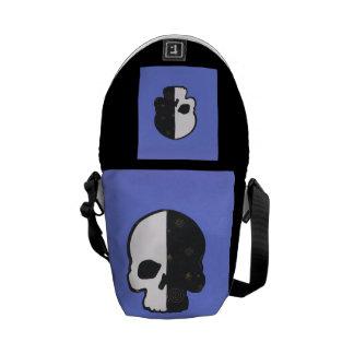 The Dark Side Skull Mini Messenger Bag