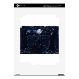 The Dark Trail iPad 3 Skin