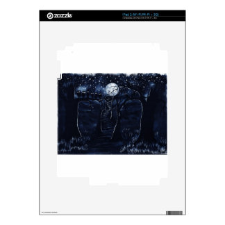 The Dark Trail Decal For The iPad 2