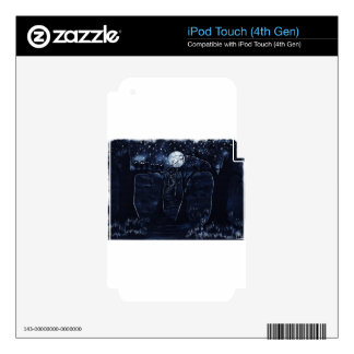 The Dark Trail Decals For iPod Touch 4G