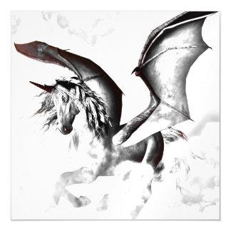 The dark unicorn magnetic invitations