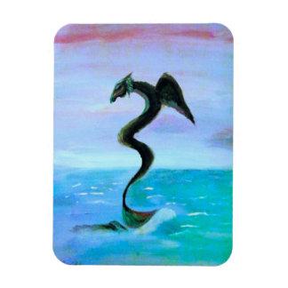 The Dark Water Serpent Magnet