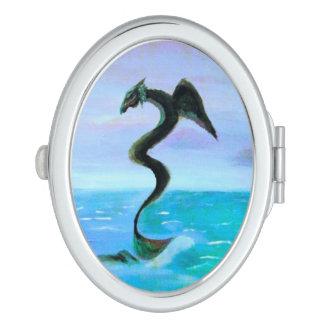 The Dark Water Serpent Makeup Mirror
