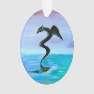 The Dark Water Serpent Ornament