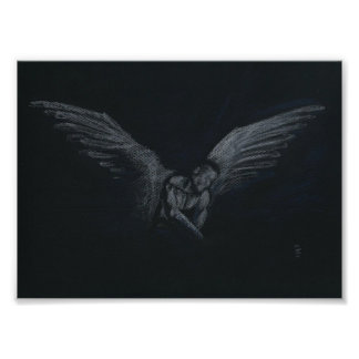 The Darkened Light Print