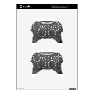 The Darkest Minds in bw Xbox 360 Controller Skins