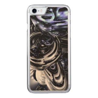 The Darkside Abstract Carved iPhone 7 Case