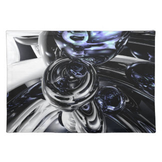 The Darkside Abstract Placemats