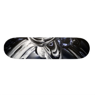 The Darkside Abstract Skateboard V1