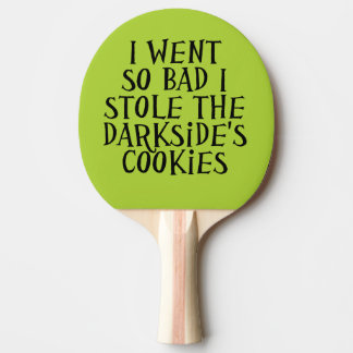 The Darkside's Cookies Ping-Pong Paddle