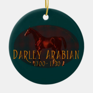 The Darley Arabian Ceramic Ornament