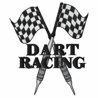 The  Dart  Racing® crossed darts Logo Polo