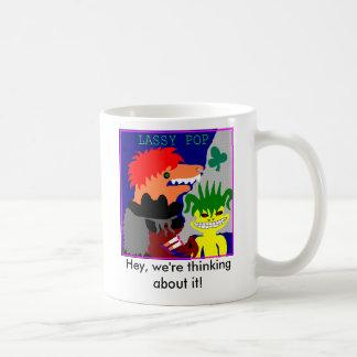 The Darts C U P Classic White Coffee Mug