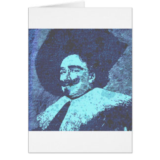 The Dashing Cavalier Greeting Card