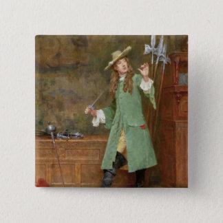 The Dashing Cavalier Pinback Button