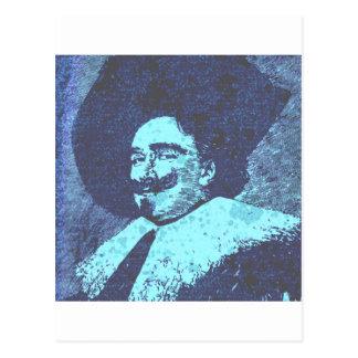 The Dashing Cavalier Postcard