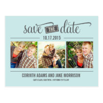 """""""THE"""" Date - Save The Date Card Post Cards"""