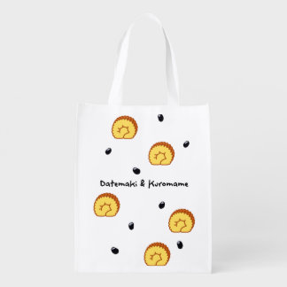 < The Date winding and black bean > Datemaki & Reusable Grocery Bag