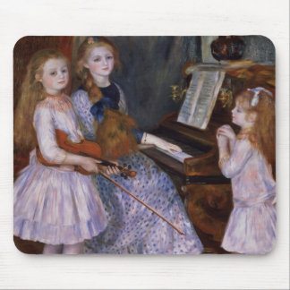 The Daughters of Catulle Mendes at the piano, 1888 Mouse Pad