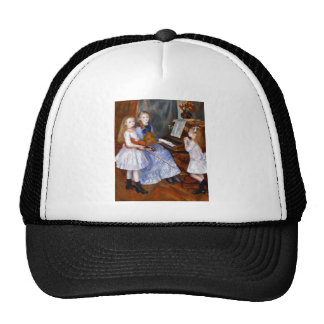 The daughters of Catulle Mendes by Pierre Renoir Trucker Hats