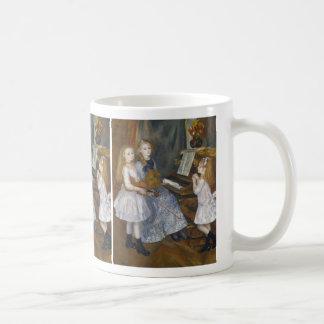 The Daughters of Catulle Mendès - Renoir Coffee Mug
