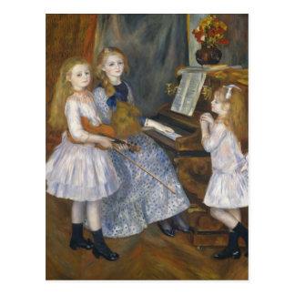 The Daughters of Catulle Mendès - Renoir Postcard